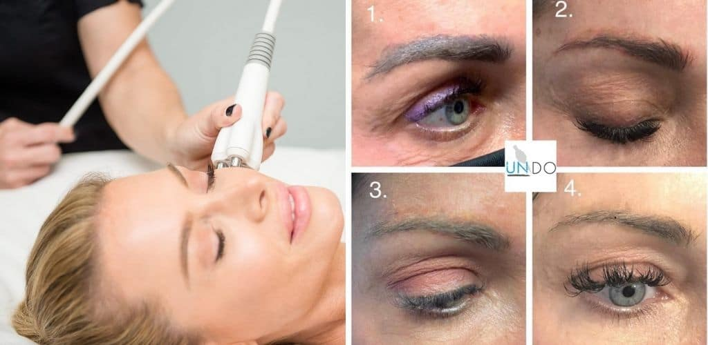 How to remove permanent makeup